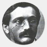 Emanuel Lasker Classic Round Sticker