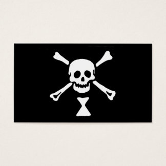 Emanuel Wynne Pirate Flag Business Card