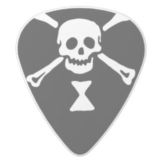 Emanuel Wynne Pirate Flag Guitar Pick