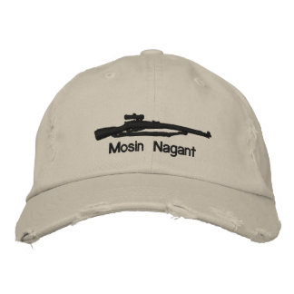 Emb. Mosin Nagant Adjustable Hat W/Soviet Star