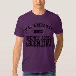 Embajada Buenos Aires, la Argentina Camisas