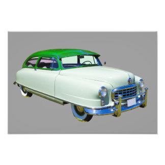 Embajador 1950 de Nash coche antiguo Impresion Fotografica