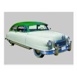 Embajador 1950 de Nash coche antiguo Postales