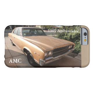 Embajador 1969 v.2 de AMC American Motors Funda Para iPhone 6 Barely There