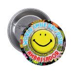 EMBAJADOR 2012 del día de la sonrisa del mundo bot Pin