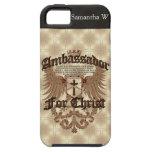 Embajador For Cristo, verso de la biblia de los Co iPhone 5 Case-Mate Cobertura