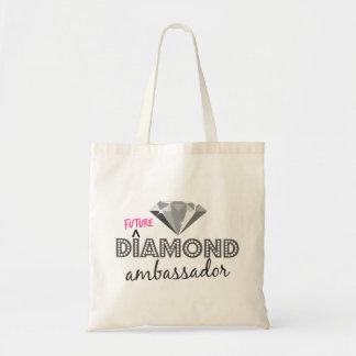 Embajador futuro la bolsa de asas del diamante