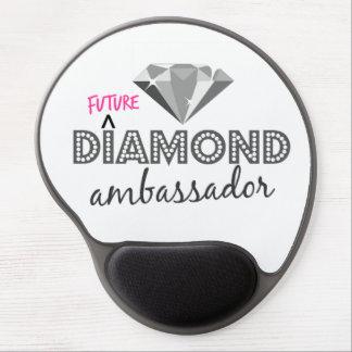 Embajador futuro Mousepad del diamante Alfombrilla Para Ratón De Gel