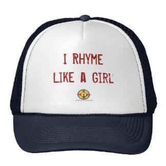 Embajador lírico gorras de camionero