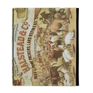 Embaladores de la carne de vaca y del cerdo, c.188