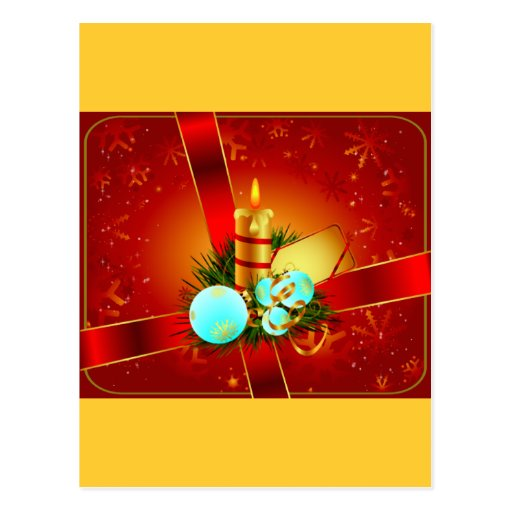 Embalajes del navidad tarjeta postal