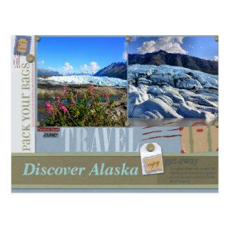 Embale sus bolsos a la postal de Alaska