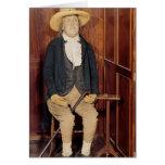 Embalmed body of Jeremy Bentham Greeting Card