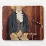 Embalmed body of Jeremy Bentham Mouse Pad