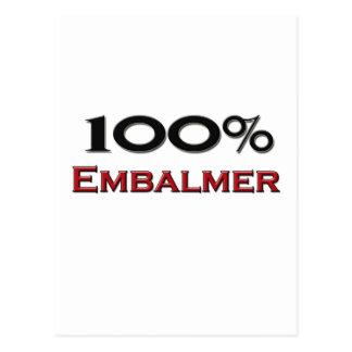 Embalmer del 100 por ciento postal