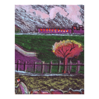 EMBANKMENT WITH TRAIN FLYER