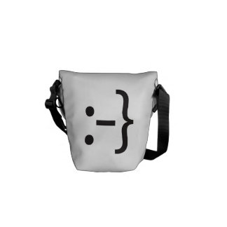embarassed smile.ai courier bag