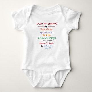 Embarazo/Pregnancy announcement Baby Bodysuit