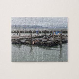 Embarcadero 39 de San Francisco Rompecabeza Con Fotos