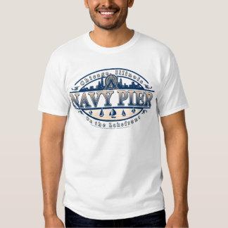 Embarcadero Chicago de la marina de guerra Camisas