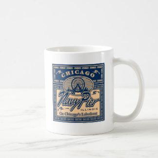 Embarcadero Chicago de la marina de guerra Tazas De Café