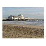 Embarcadero de Bournemouth en invierno Tarjetas Postales
