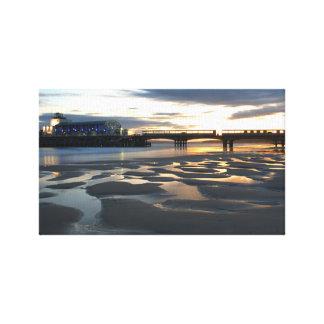 Embarcadero de Bournemouth Impresión En Lienzo