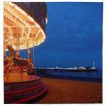 ¡Embarcadero de Brighton - diversión! Servilletas De Papel