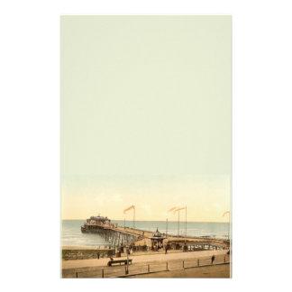 Embarcadero de Hastings, Hastings, Sussex, Inglate Papeleria Personalizada