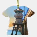 Embarcadero de Huntington Beach Adorno Para Reyes