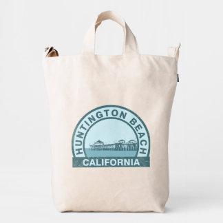 Embarcadero de Huntington Beach Bolsa De Lona Duck