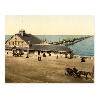 Embarcadero de la bahía de Herne, Kent, Inglaterra Postal