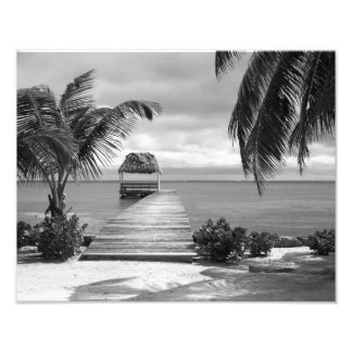 Embarcadero de la isla impresion fotografica