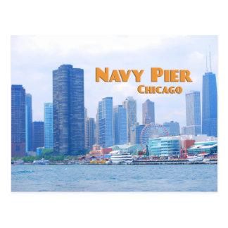 Embarcadero de la marina de guerra - Chicago Postal