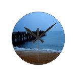 Embarcadero de la playa de Flagler Relojes