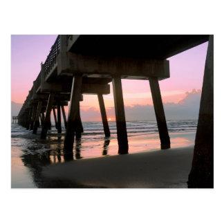 Embarcadero de la playa de Jacksonville Postal
