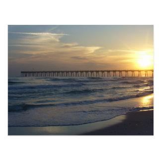 Embarcadero de la playa de Pensacola Postales
