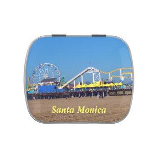 Embarcadero de la playa de Santa Mónica Jarrones De Dulces