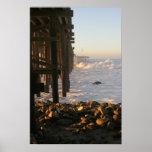Embarcadero de la tormenta de Ventura Posters