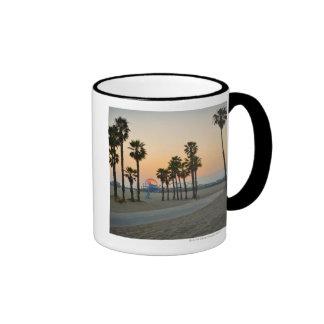 Embarcadero de los E.E.U.U., California, Santa Món Taza De Café