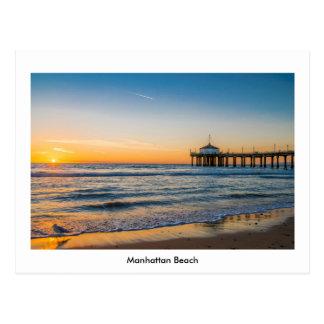 Embarcadero de Manhattan Beach Tarjetas Postales