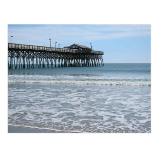 Embarcadero de Myrtle Beach Tarjetas Postales