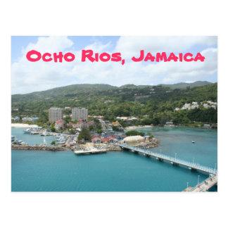 Embarcadero de Ocho Rios, postal de Jamaica