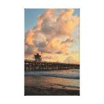 Embarcadero de San Clemente California Impresión En Lona