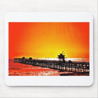 Embarcadero de San Clemente, California Alfombrilla De Ratón