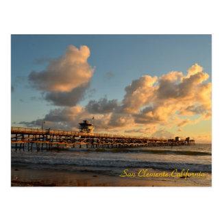 Embarcadero de San Clemente California Tarjeta Postal