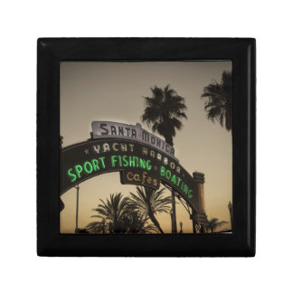 Embarcadero de Santa Mónica Caja De Recuerdo