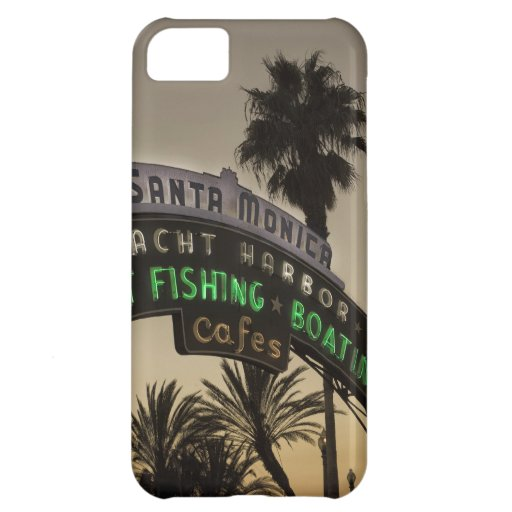 Embarcadero de Santa Mónica Funda Para iPhone 5C