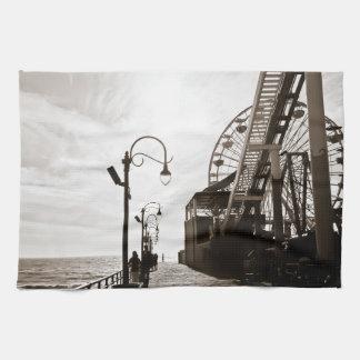 Embarcadero de Santa Mónica Toallas