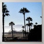 Embarcadero de Santa Mónica Posters